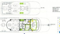 Superyacht MALIBU - Layout